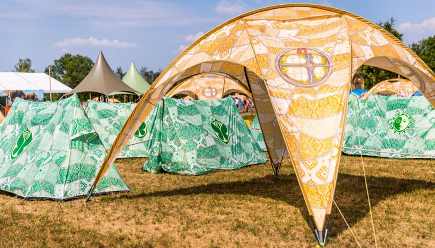 Oasis A-Shape popup tent LIFFIN