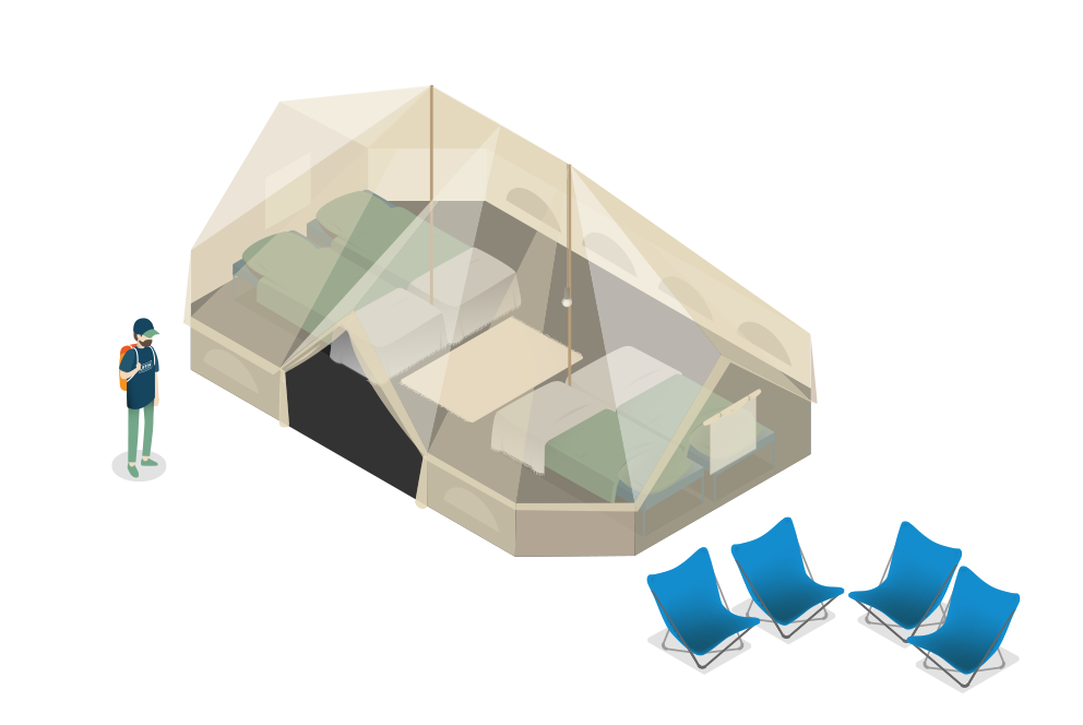 LIFFIN The Boss Boutique isometric view