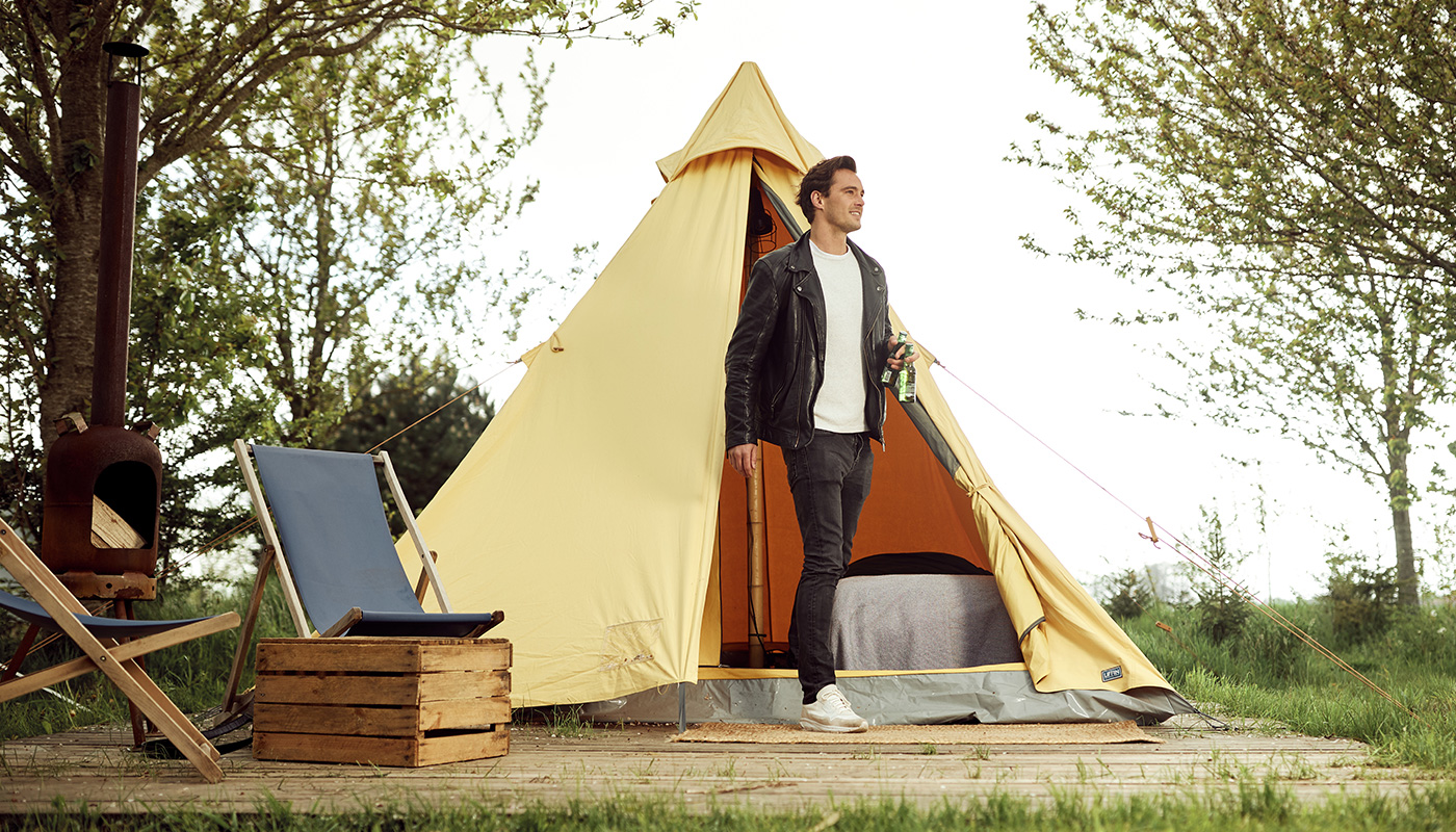 The Queen hoge tipi tent LIFFIN