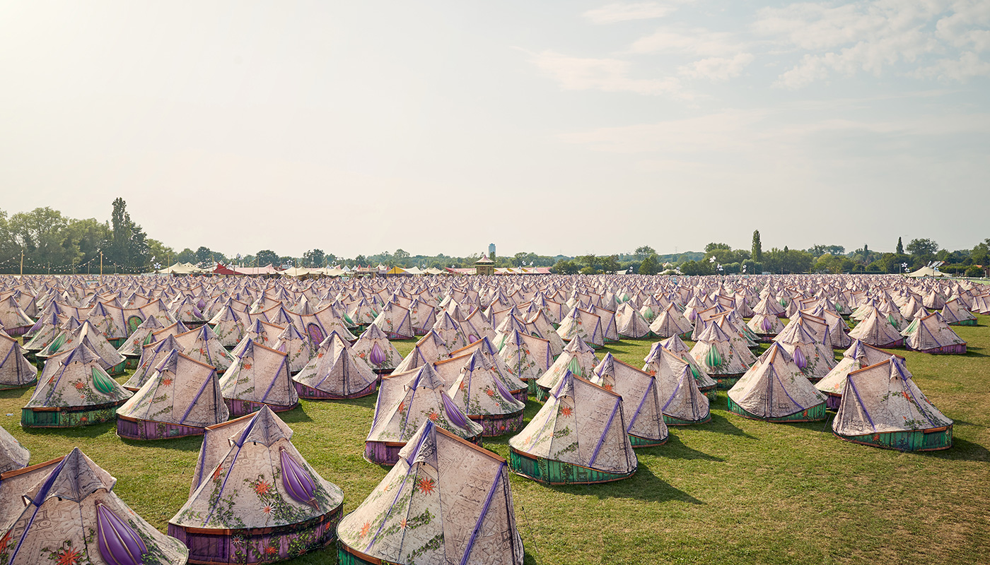 Franklin Bell Tent Tomorrowland LIFFIN