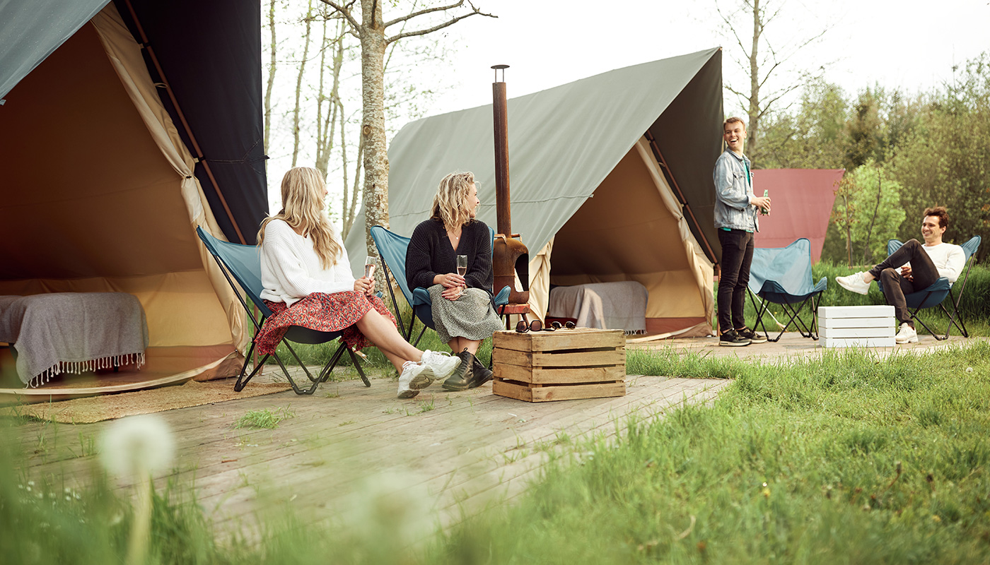 The Who double lodge glamping LIFFIN