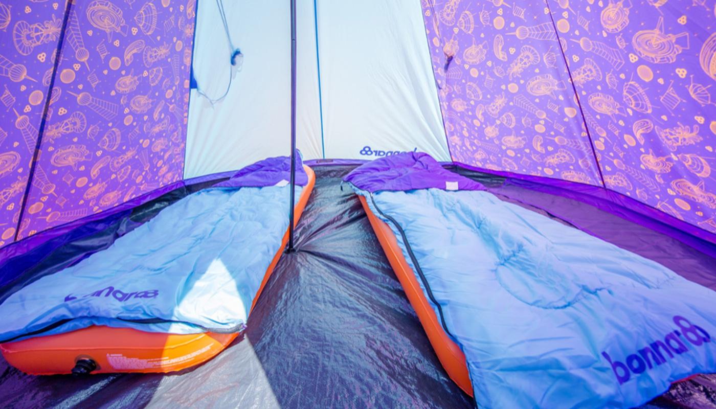 Prince Tipi Tent Bonnaroo LIFFIN