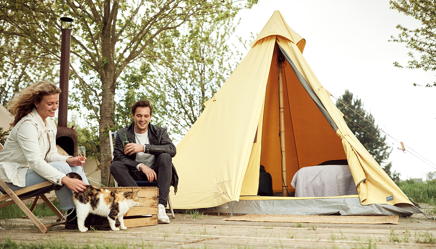 The Queen tipi tent LIFFIN