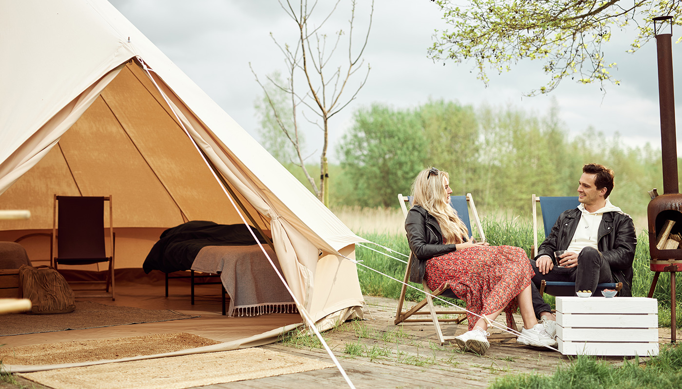 The Elvis 4p bell tent LIFFIN