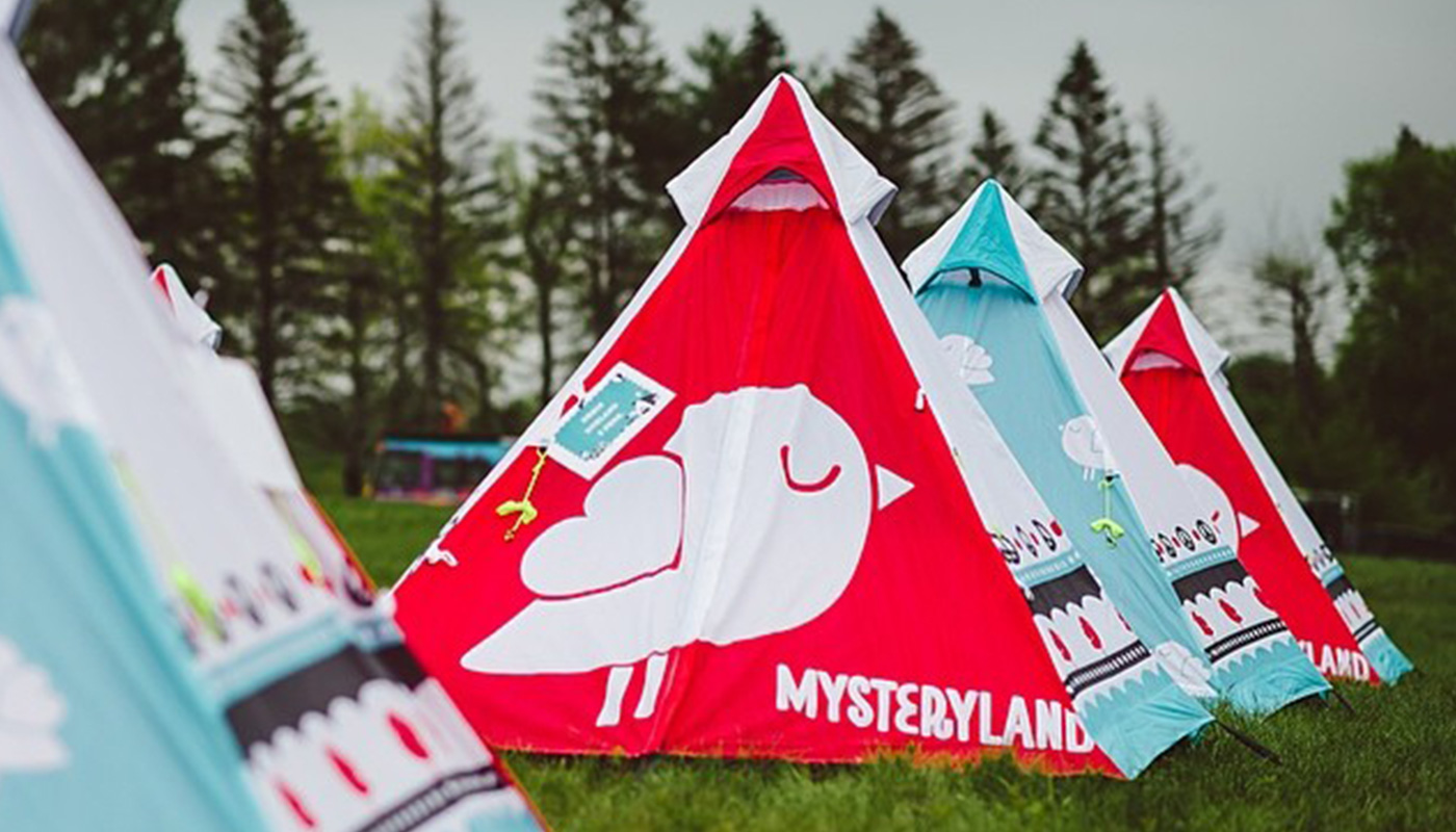 Prince Tipi Tent Mysteryland Festival LIFFIN