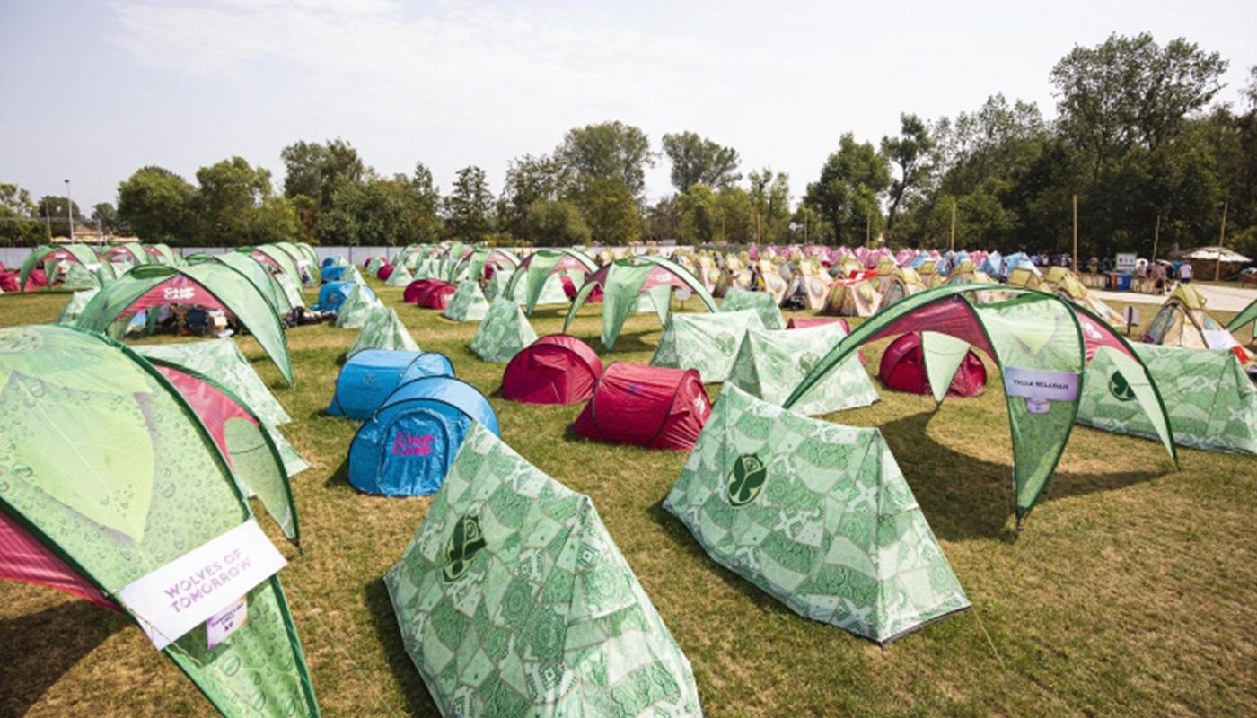 Oasis A-Shape Popup Tent Tomorrowland